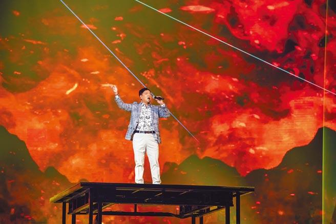 施孝榮昨宣布4月起,將在全台9地開唱。(寬宏藝術提供)