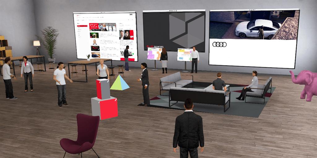 Audi將職場數位化 讓工作就像打電動