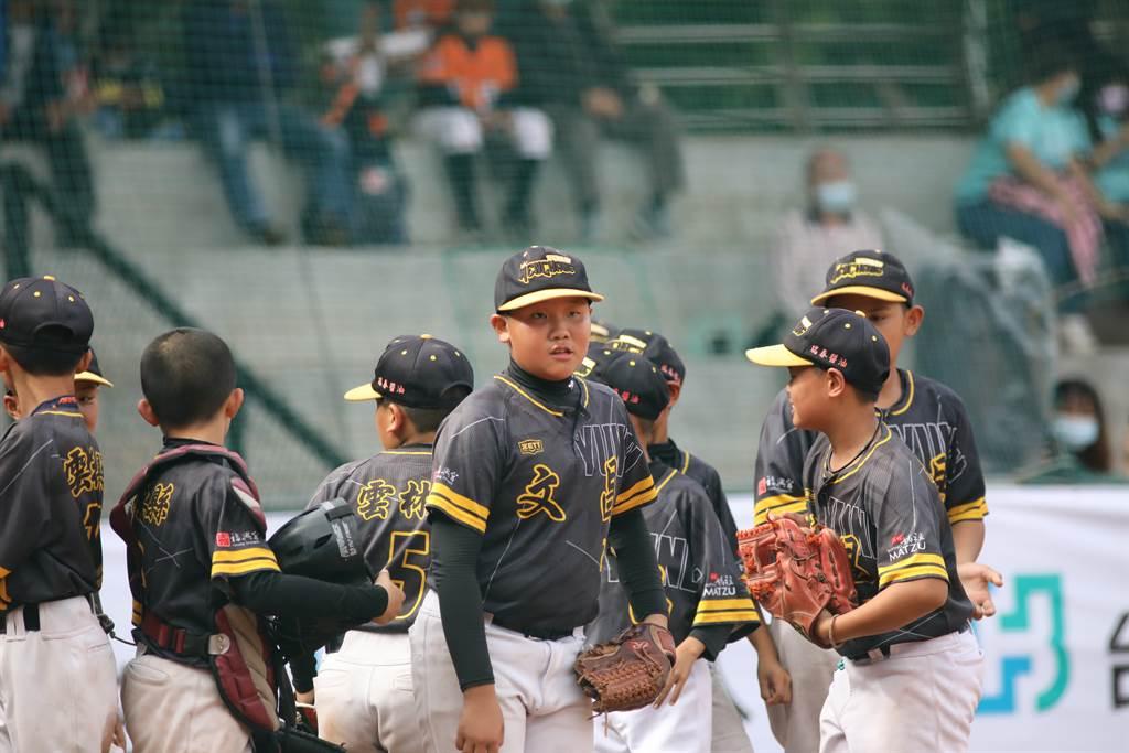 雲林文昌國小首次參加富邦盃少棒賽就闖入四強。(中華棒協提供)