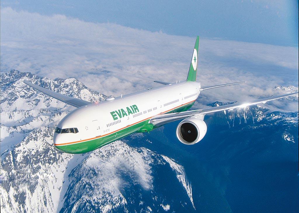長榮航空證實,1月13日BR225航班機長有接獲航管值班人員提醒通知航路附近有不明機的航情資訊。圖為長榮航客機示意圖。(長榮航空提供)