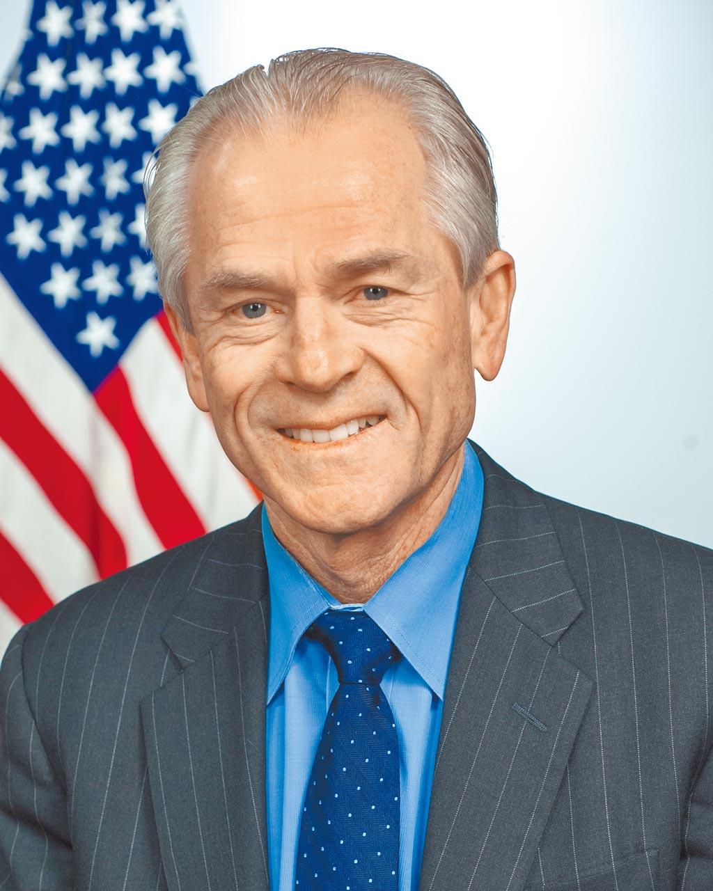 前白宮貿易顧問納瓦羅。(美國白宮貿易與製造業政策辦公室)
