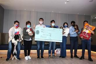 國民黨青年部辦「動物日」江啟臣親出席並捐動保團體一萬元