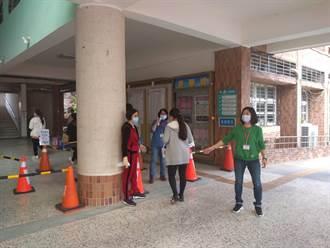 新竹考區下午傳1考生發燒 啟動防疫考場