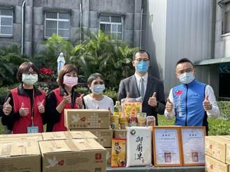 疫情影響募款 泰山奇蹟之家獲贈50箱村里平安箱