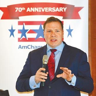 美國商會籲台灣 將BTA當施政重點
