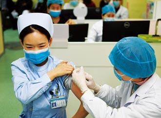 防護罩 23省逾1500萬人次接種