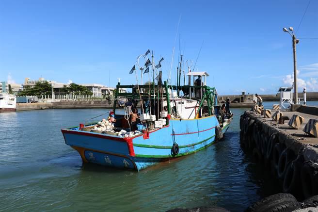 漁船老舊改建惹議,航港局、漁業署將南下與漁民對談。圖為東港漁港。(謝佳潾攝)
