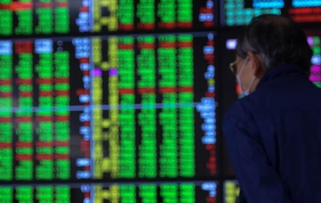 台股早盤漲多拉回,一度下跌逾百點。(資料照)