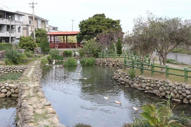 公館鄉中義社區15年來不停爭取經費,開發「姊妹泉」生態園區。(巫靜婷攝)