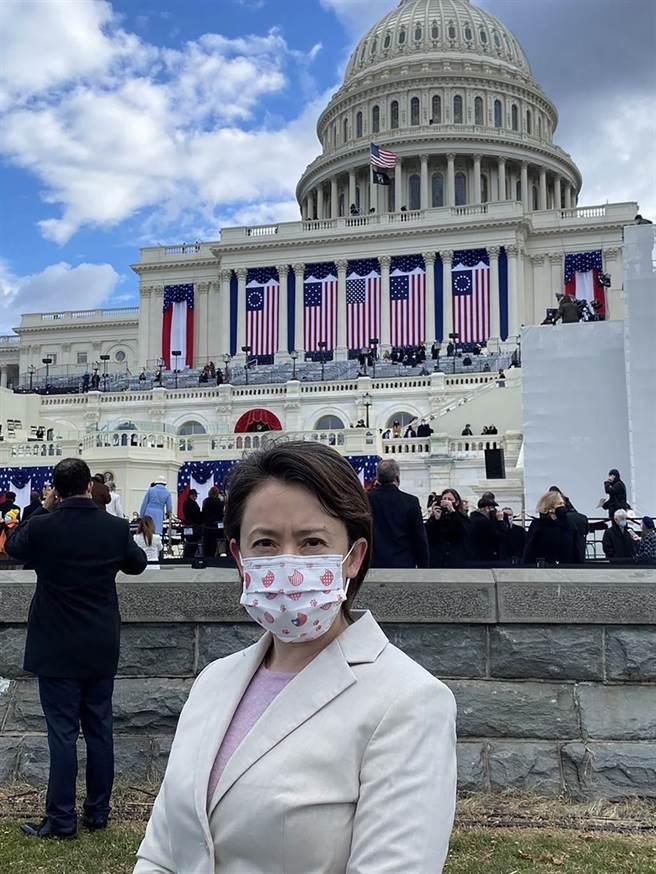 駐美代表蕭美琴獲邀出席美國總統就職典禮。(本報資料照/駐美代表處提供)