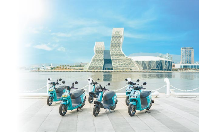 GoShare將在高雄提供Gogoro VIVA、Gogoro 2、Gogoro 3等3種車款選擇。(GoShare提供)