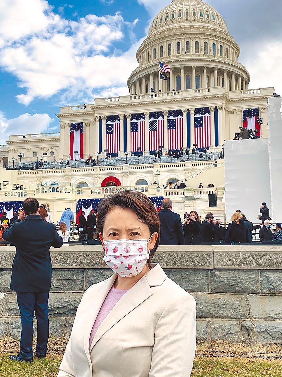 蕭美琴傳獲邀出席美國總統拜登就職典禮卻引發疑慮。(駐美代表處提供)