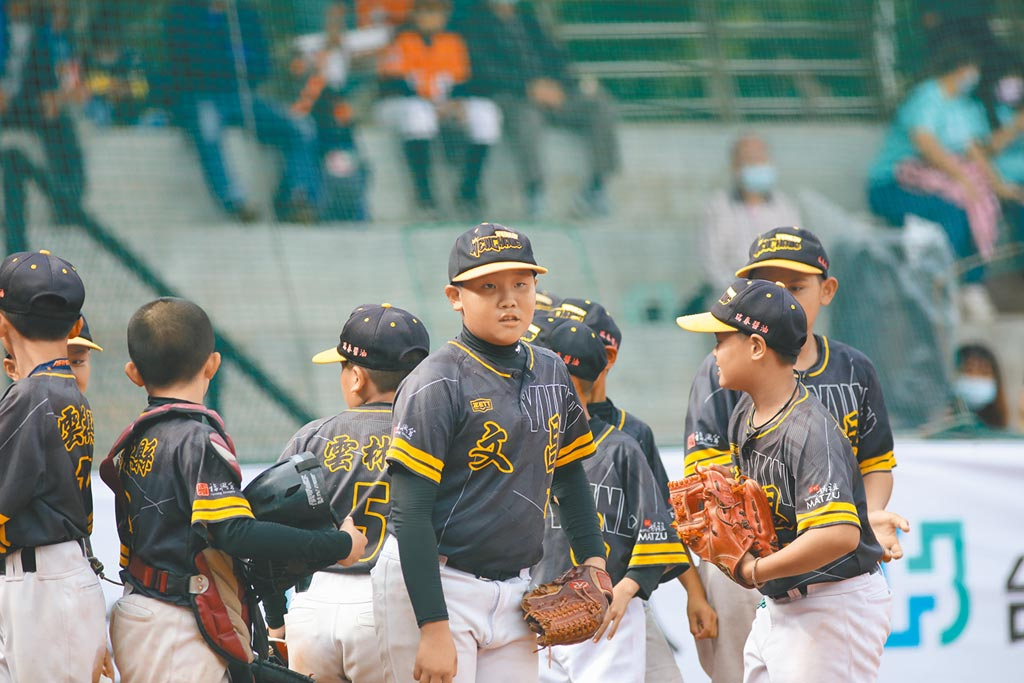 雲林文昌國小首次參加富邦盃少棒賽就闖入4強。(中華棒協提供)