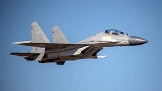 共機大量出沒 13架軍機今大舉擾台 今年最多