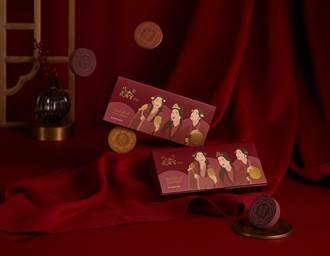 美妝品、財神廟首度合作 推傳統糕點造型粉撲超吸睛