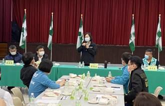 蔡英文出席中市黨公職座談  籲綠營積極面對黃捷罷免案