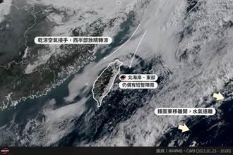 明北台灣轉涼 中南部日夜溫差大 下波降溫時間點出爐