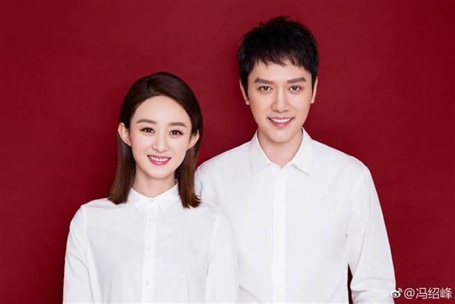 趙麗穎被爆和馮紹峰離婚。(圖/馮紹峰微博)