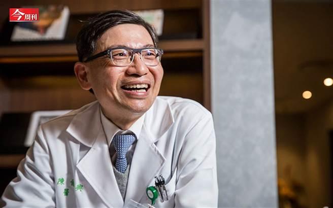 新國病篩檢推手,為什麼陳文茜、陳佩琪罹肺癌都找他?(圖/蕭芃凱攝)