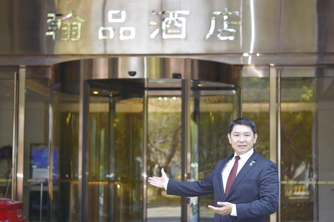 翰品酒店高雄總經理林俊宇表示,服務創新永無止境。圖/翰品酒店高雄