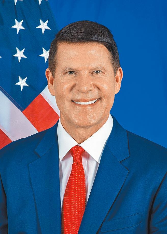 曾經訪台的前美國國務次卿柯拉克於21日發推文表示,他將北京的制裁當成榮譽勳章。(摘自美國國務院)