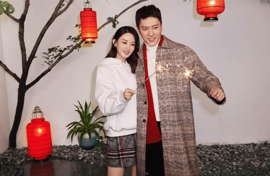 在鄭爽之後,趙麗穎被傳跟馮紹峰離婚,還說孩子不是馮紹峰的,讓兩人祭出澄清聲明維護名譽。(翻攝自微博)