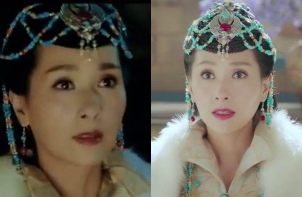 楊恭如在《東宮》中飾演明遠公主。(圖/翻攝自微博)