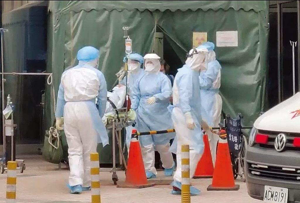 部立桃園醫院爆發群聚感染。(資料照片,蔡依珍攝)