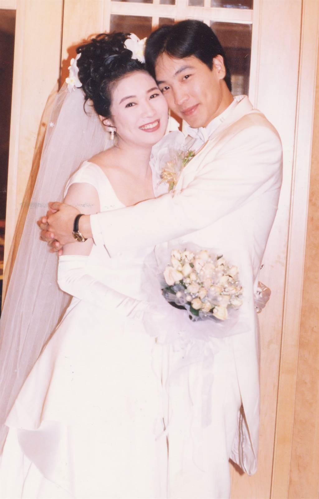 于冠華曾在迎娶方文琳時感動落淚,最終仍外遇離婚。(圖/中時資料照)
