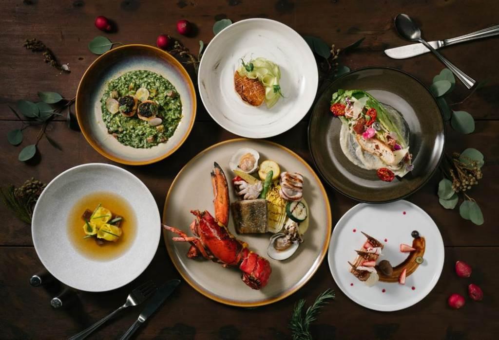 GUSTOSO義大利餐廳自即日起至2月5日止,平日(周一至周五)晚間推出「一元復始‧海陸成雙」優惠活動。(慕軒飯店提供)