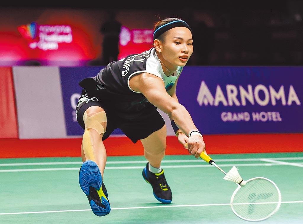 戴資穎神奇救回4個賽末點,逆轉擊退宿敵依瑟儂,挺進豐田泰國公開賽女單決賽。(Badminton Photo提供)