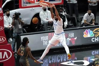 NBA》一眉哥只打3節摘37分 湖人客場9連勝