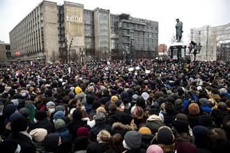 要求釋放反對派領袖納瓦尼 俄100多城連線示威逾3000人被捕