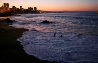 一晚連2震 規模7.1、5.6強震襲智利