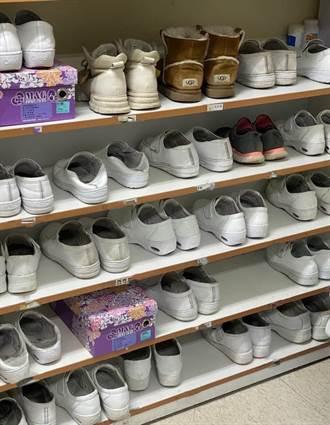 桃醫一張鞋櫃照曝最前線心情 祈願「鞋不要越來越少」