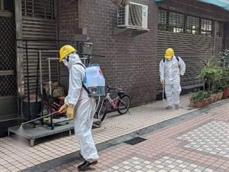 中市防疫消毒大隊出動消毒 降低疫情風險
