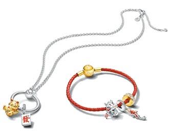 Pandora迎牛年串聯吉利發 滿2021元即贈品牌設計燙金紅包袋