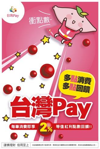 每天來點台灣Pay 享2%回饋