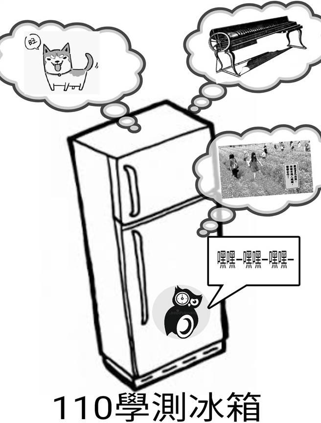 继富兰克林玻璃琴后,国写的冰箱题也成为学生梗图之一。(图/翻摄自巴哈姆特)