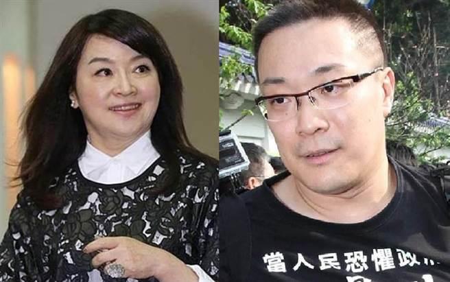 媒体人周玉蔻(左)、宅神朱学恒。(合成图/资料照)
