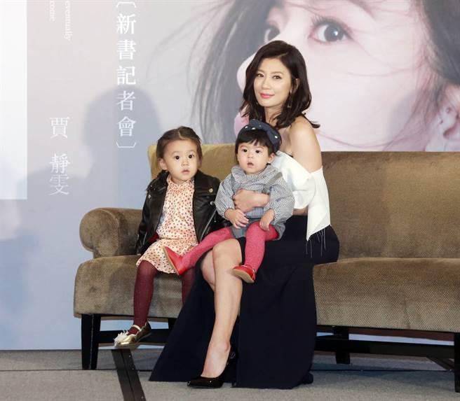 咘咘和Bo妞都遺傳爸媽的優良基因。(圖/資料照)