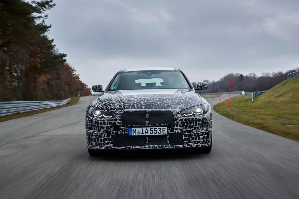 普通測試不夠?BMW在i4正式發表前釋出甩尾片段!
