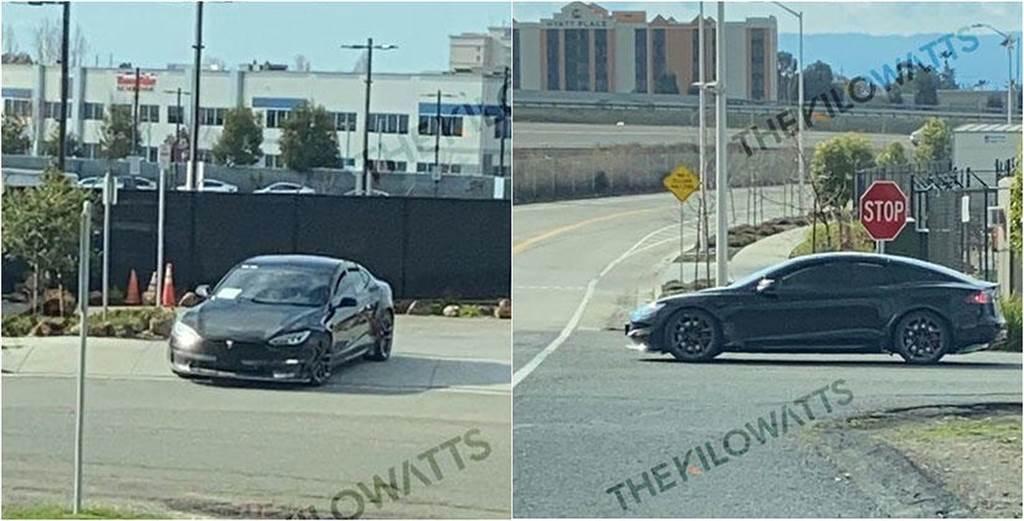 超過十處更動!疑似新款 Model S / Model S Plaid 測試車直擊