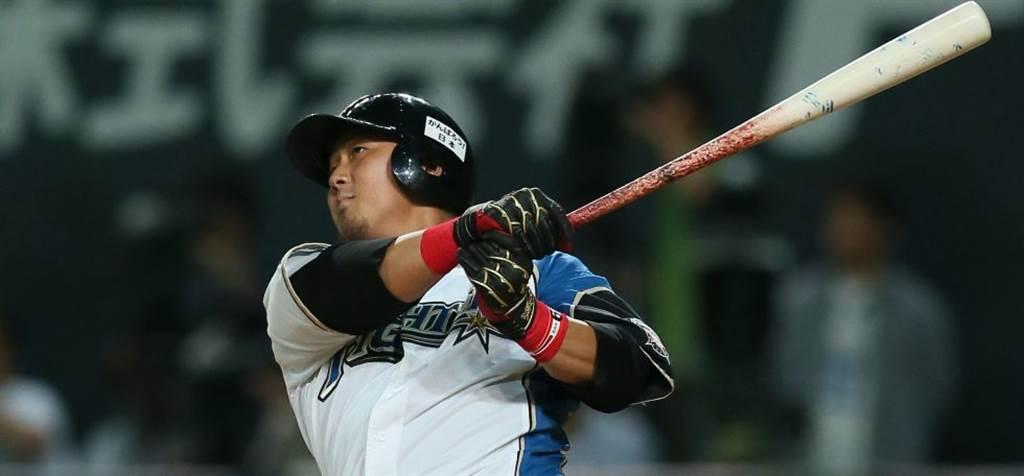火腿隊當家第4棒中田翔22歲結婚,也算是早婚一族。(美聯社資料照)