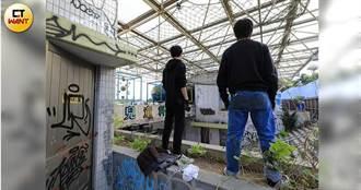 幽靈蚊子館2/士林兒童育樂中心淪塗鴉廢墟 上次巡邏已是3周前