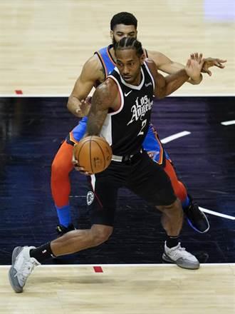 NBA》快艇擊退雷霆七連勝 里歐納德創隊史紀錄