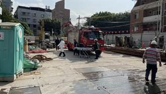 北投工地意外 木條狂墜12公尺 B3工人慘遭爆頭亡