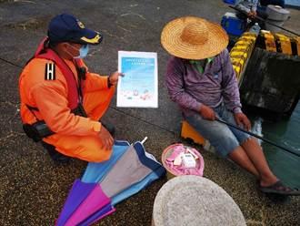 防憾事化被動為主動 海巡備50件救生衣供遊客申請