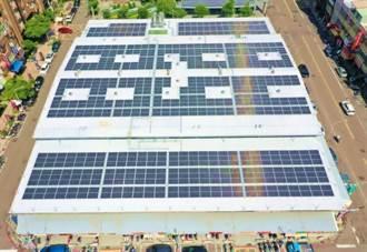 高雄綠能菜市場發電量增 回饋兼防漏水