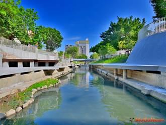 區域利多!城市新風貌 柳川藍帶綠廊